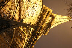 Eiffel Tower by night, Paris Royalty Free Stock Image