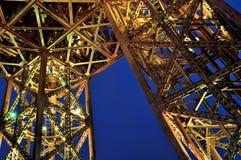 Eiffel Tower night Royalty Free Stock Photos