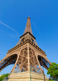 Eiffel Tower, North-East pillar Royalty Free Stock Images