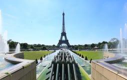 Eiffel Tower Palais de Chaillot Stock Image