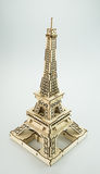 The Eiffel Tower paper toy. The Eiffel Tower paper souvenir toy Stock Photo