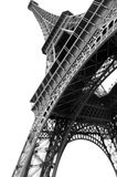 Eiffel Tower, Paris. Perspective picture of Eiffel Tower Paris, France, over white background Royalty Free Stock Photos