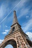 Eiffel Tower (Paris). View of Eiffel Tower (Paris stock images