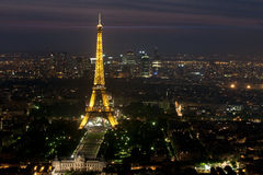 The Eiffel tower - Paris Royalty Free Stock Photo