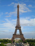 The Eiffel Tower in Paris Stock Image