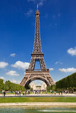 Eiffel Tower of Paris stock photo