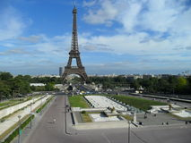 The Eiffel Tower in Paris Royalty Free Stock Image