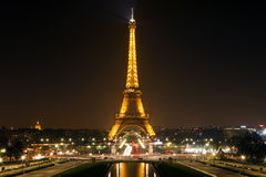 Eiffel Tower in Paris. Royalty Free Stock Photography