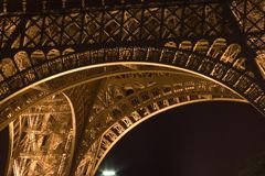 Eiffel tower.Paris Royalty Free Stock Images