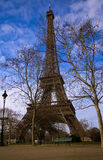 The Eiffel Tower in Paris Royalty Free Stock Photos