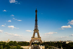 Eiffel tower in paris. This is one of the famous point to observe eiffel tower Stock Image