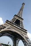 Eiffel Tower in Paris. France in a summer day Stock Photo