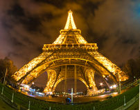 The Eiffel Tower, Paris. Royalty Free Stock Photos