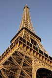 Eiffel tower of Paris. In very large plan Stock Photos