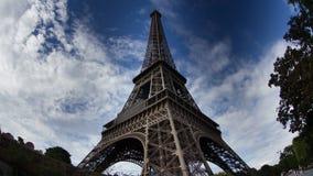 Eiffel tower stock footage
