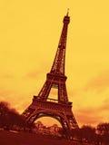 Eiffel Tower in Paris. A view of the Eiffel Tower in Paris Stock Photos