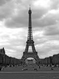 Eiffel tower paris. Champ de mars Royalty Free Stock Image