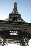 Eiffel Tower Paris. Low angle view of Eiffel Tower, Paris, France Stock Photography