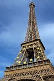 Eiffel Tower, Paris France stock photography