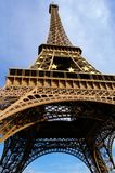 Eiffel Tower in Paris. Paris, Eiffel Tower on the Blue Sky Background Stock Image
