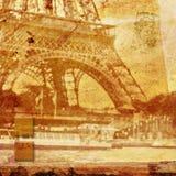 Eiffel tower Paris, abstract digital art Royalty Free Stock Image