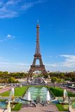 Eiffel Tower in Paris Stock Image