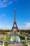 Eiffel Tower in Paris stock image