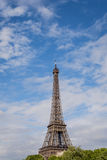 Eiffel Tower. Paris, the beautiful view of the Eiffel Tower on a summer day Royalty Free Stock Photos