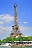Eiffel tower (Paris) Royalty Free Stock Image