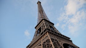 Eiffel tower in Paris stock video