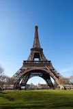 Eiffel Tower from Park Stock Photos