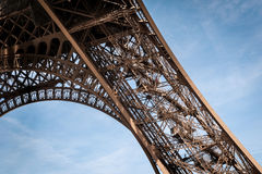 The Eiffel Tower in Paris Stock Images