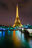 The Eiffel Tower, Paris. Royalty Free Stock Photography