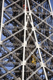 Eiffel Tower  in Paris - detail Royalty Free Stock Photos