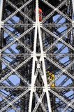 Eiffel Tower  in Paris - detail Royalty Free Stock Photography