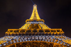 Eiffel Tower Paris Dusk Royalty Free Stock Image