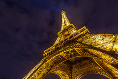 Eiffel Tower Paris Dusk Royalty Free Stock Images