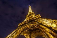 Eiffel Tower Paris Dusk Royalty Free Stock Photography