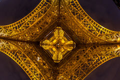 Eiffel Tower Paris Dusk Royalty Free Stock Images