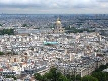 Paris from Eiffel Tower Stock Photo