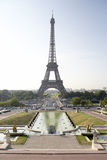 Eiffel Tower,Paris,France. With blue sky Royalty Free Stock Photography
