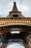 Eiffel Tower, Paris, France. Eiffel Tower images taken from its base, Paris, France Stock Image