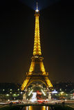 Eiffel Tower in Paris, France. Stock Photo