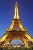 Eiffel Tower in Paris, France. Royalty Free Stock Images