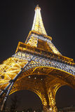 Eiffel Tower in Paris, France. Royalty Free Stock Photography