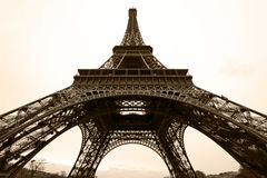 Eiffel Tower in Paris, France. Stock Photography
