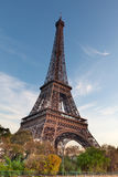 Eiffel Tower, Paris, France. The Eiffel Tower is located in Paris. Built in 1889, it has become both a global icon of France and one of the most recognizable Royalty Free Stock Photo