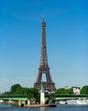 Eiffel Tower in Paris - France royalty free stock photography
