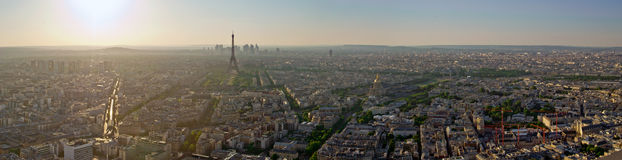 Eiffel Tower in Paris - France Stock Image
