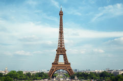 The Eiffel Tower, Paris - France Stock Photos
